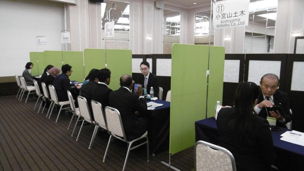 第4回 外国人留学生と地域企業との合同企業説明会しました